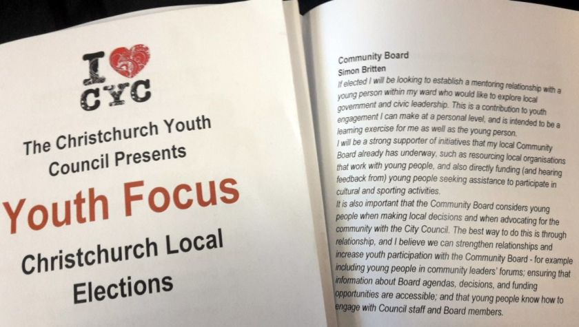 Youth Focus response