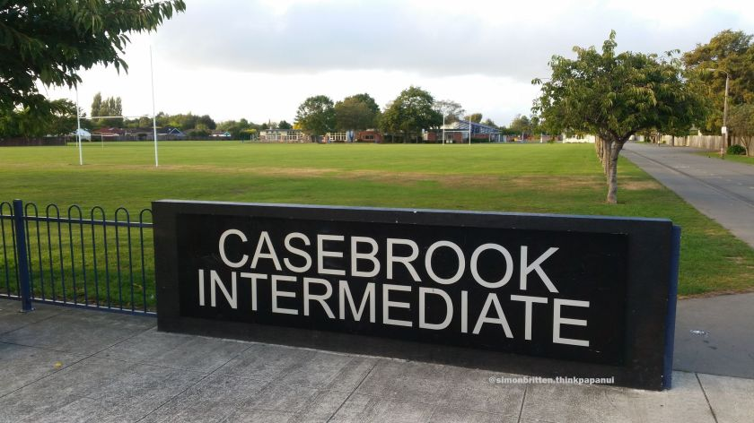 Casebrook Intermediate in Papanui Ward