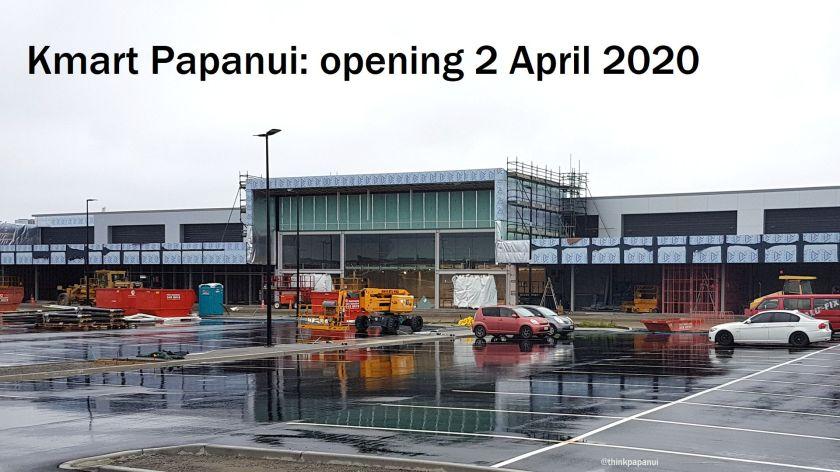 Kmart opening 2 April 2020
